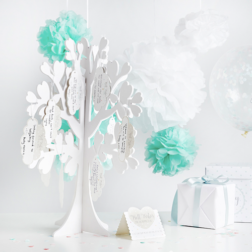 Baby Shower Wishing Tree Set for a special guestbook