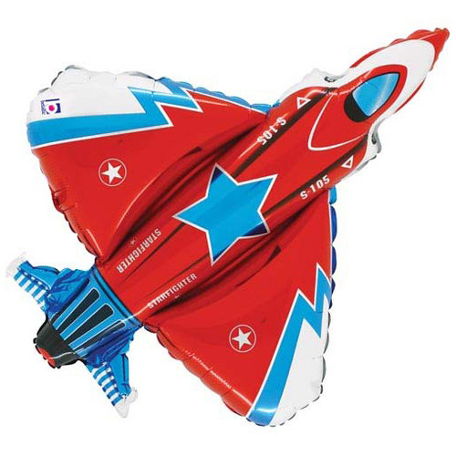 Starfighter Airplane Foil Balloon