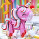 Standing Air Fill Unicorn Balloon Party Decoration for Unicorn Themed Birthday Party Venue Decor
