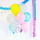 Pastel Daze Mix Balloon Collection Party Decoration for Unicorn Themed Birthday Parties, Baby Showers and Wedding Venue Decor