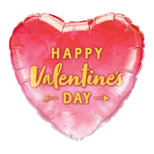 Happy Valentine's Day Helium Foil Balloon Party Decoration for Valentine's Day Decor or as a Present