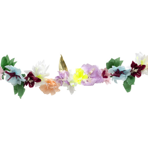Paper Flower Blossom Garland Party Decoration for Wedding, Hen Party and Summer Birthday Venue Decor