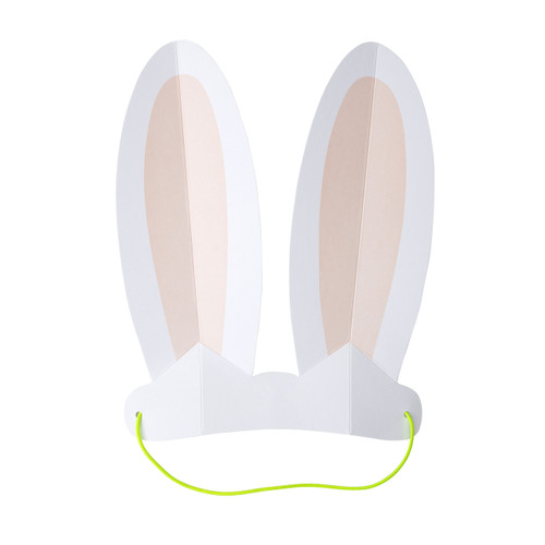 Paper Bunny Rabbit Ears Party Accessory for Easter and Children's Birthday Party Hats