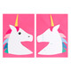 Unicorn Invitations Party Accessory for Unicorn Themed Children's Birthdays
