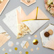 Marble and Peach Geometric Party Bags for Hen Party, Wedding or Birthdays