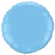 Small Light Blue Round Foil Balloon Party Decoration for Birthdays, Weddings and Baby Showers