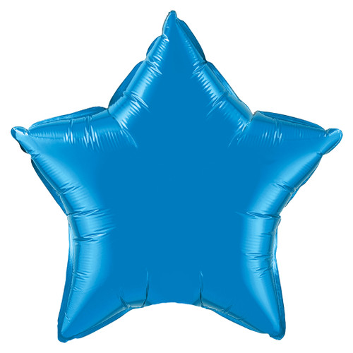 Small Dark Blue Star Foil Balloon Party Decoration for Birthdays and Weddings