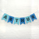 Personalised name birthday party bunting decoration for childrens birthdays, baby showers, 1st birthdays, christenings and home decor