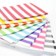 Stylish Stripe Paper Party Bags