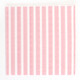 Light Pink Stripe Paper Party Napkins