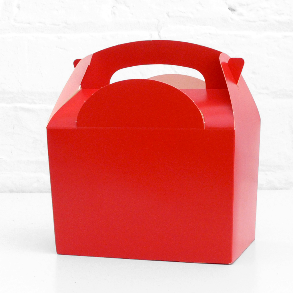 Red Party Treat Box