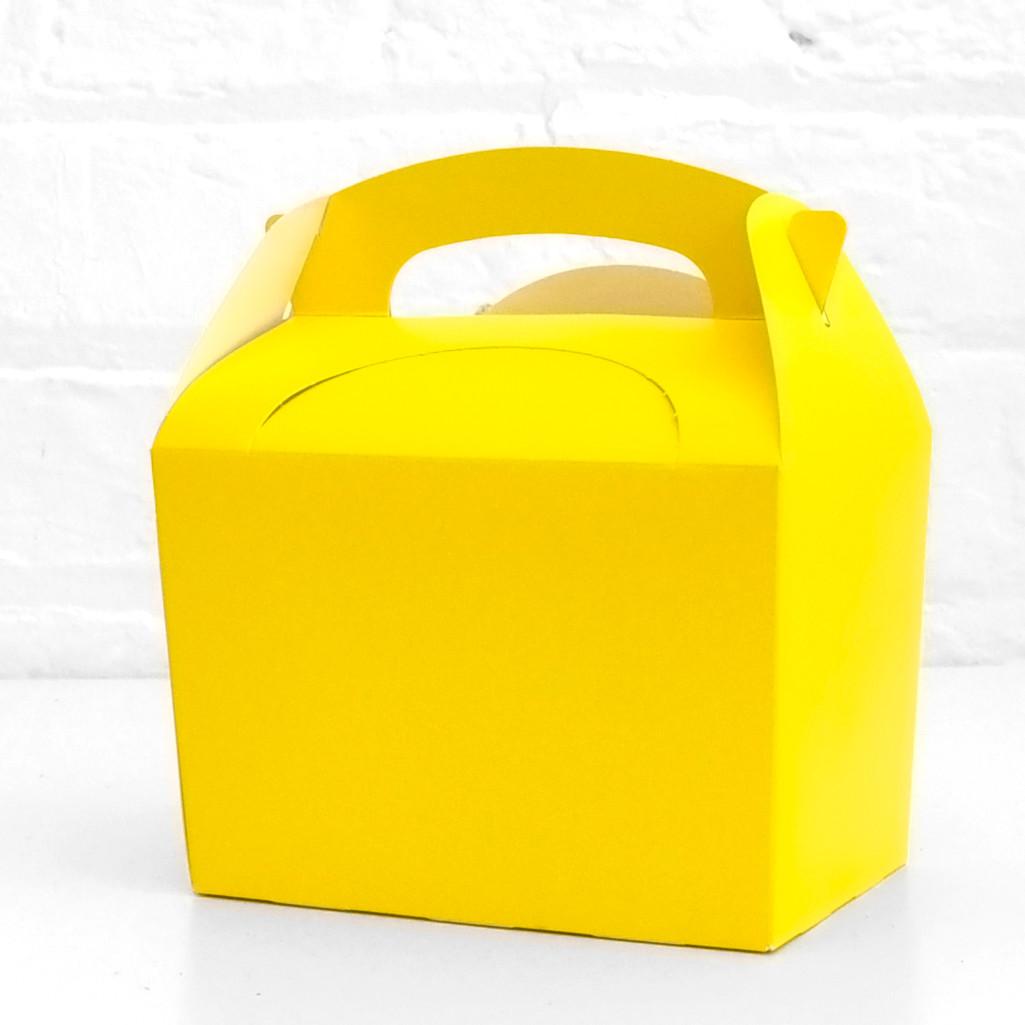 Yellow Party Treat Box