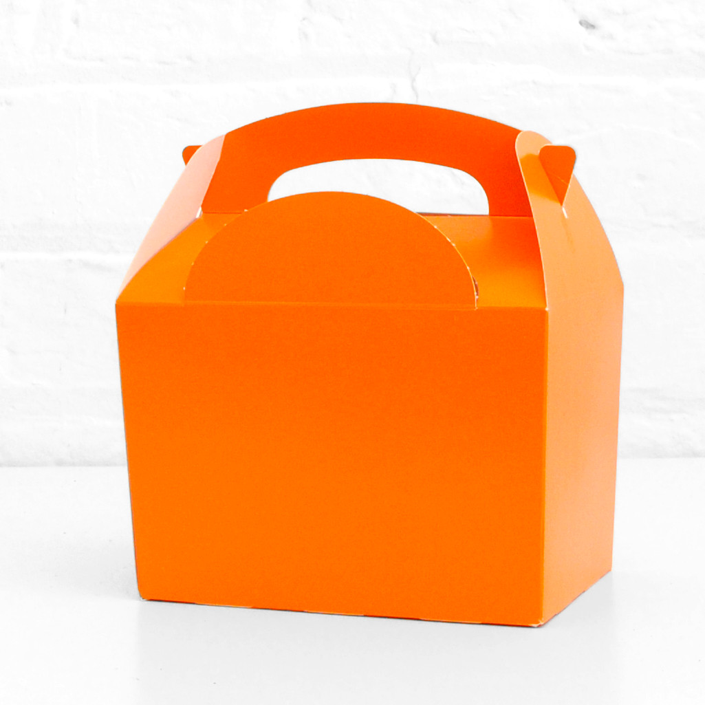Orange Party Treat Box