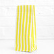 Tall Yellow Striped Party Bags for birthday party favours, gifts, weddings, sweets tables and dessert buffets