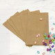 Kraft brown wedding party favour bags for gifts