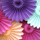 Deluxe Tissue Paper Fan Decoration for Birthday Parties, Weddings, Baby Showers and Hen Dos