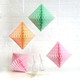 Paper Diamond Geometric Decoration for Birthday Parties, Baby Showers, Weddings and Dessert Tables