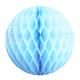 Light Blue Tissue Paper Honeycomb Ball Pom Pom Decoration