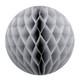 Grey Tissue Paper Honeycomb Ball Pom Pom Decoration