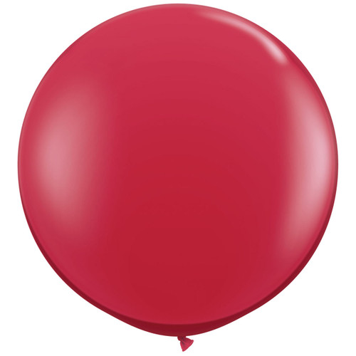 Big red balloon party decoration for birthdays, weddings, photo booth backdrops, anniversaries, baby showers, hen parties.