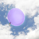 Big lilac balloon party decoration for birthdays, weddings, photo booth backdrops, anniversaries, baby showers, hen parties.