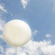 Big white large balloon party decoration for birthdays, weddings, photo booth backdrops, anniversaries, baby showers, hen parties