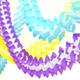 Tissue Paper Garland Decoration for Birthday Parties, Weddings, Baby Showers and Hen Parties