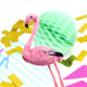 Miniature Pink Flamingo Tropical Party Decoration