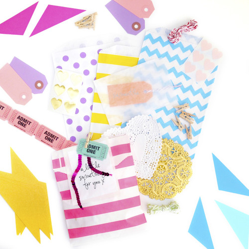 Rainbow Gift Wrap Accessories Craft Kit