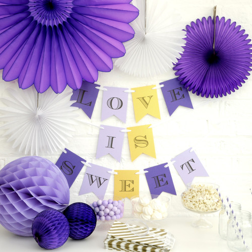 Personalised Dessert Table Bunting Party Decoration