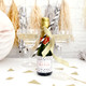 Personalised Hen Party Polka Dot Champagne Bottle Favour Labels