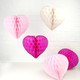 Beautiful paper heart decoration for weddings and hen parties