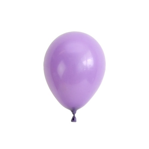 Lilac mini balloons for childrens birthday parties, balloon arches, dessert table displays, hen dos and baby showers