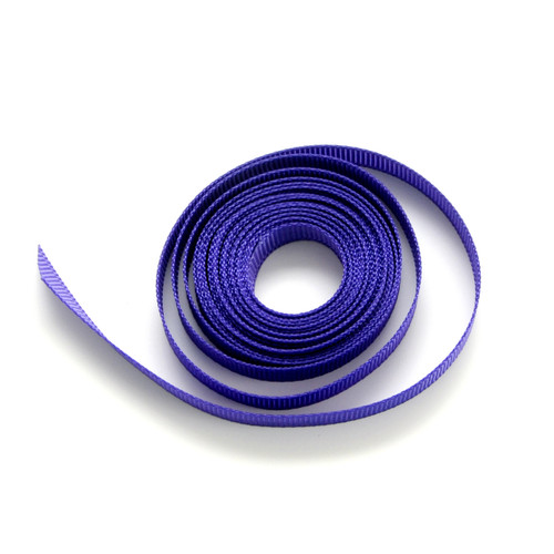 Purple luxury grosgrain ribbon for wedding favours, craft projects and gift wrap