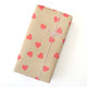 Red Heart Stickers for gift wrap, wedding favours and craft projects