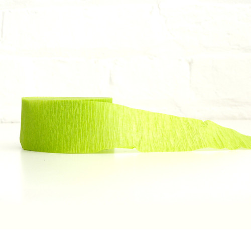 Stylish and modern crepe paper streamers for birthday parties, hen dos, baby showers and weddings