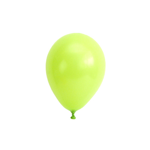 Light green mini balloons for childrens birthday parties, balloon arches, dessert table displays, hen dos and baby showers