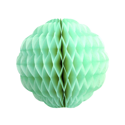 Pastel Mint Tissue Paper Honeycomb Pom Pom Decoration