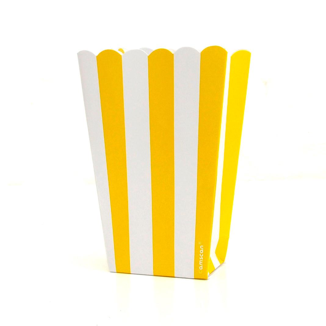 Yellow Popcorn Boxes