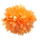 Orange tissue paper pom pom decoration for birthday parties, weddings, hen dos and baby showers