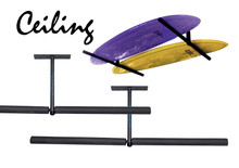 CR1 unit is the perfect rak for ceiling mounting your boards, easy to install the support bars are a massive 750mm per side with a weight capacity of 40kgs.