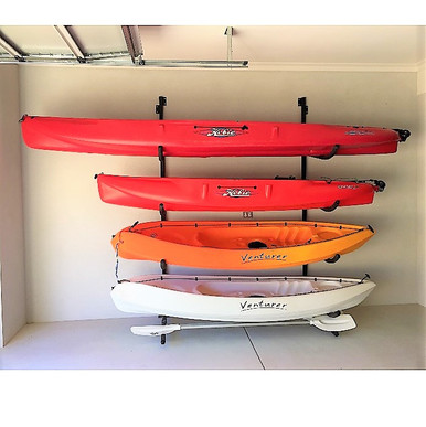 Wall Mounted Kayak rak to suit Hobie.