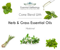Herb & Grass Essential Oil Blending Class - Medicinal