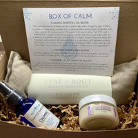 Box of Calm w/ Lavender Eye Pillow