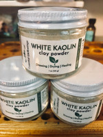 WHITE KAOLIN CLAY POWDER - Drawing | Drying | Healing