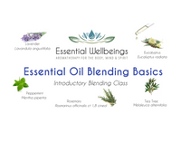 Essential Oil Blending Basics Class