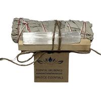 Smudge Essentials  - White Sage, Palo Santo, Selenite