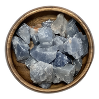 Blue Calcite - Raw