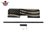 AR-15 AMERICAN FLAG DUST COVER (BLACK)