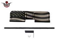 AR-15 AMERICAN FLAG DUST COVER (BLACK)